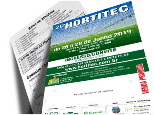 26ª Hortitec - de 26 a 28 de junho de 2019